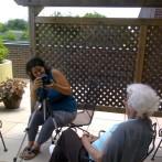 Rachael Volunteering
