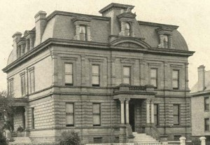 """The Hermine Schonthal Center, forerunner to the Jewish Center, was located at 555 E. Rich Street, Columbus. See """"The Jewish Center of Columbus"""" for more of the history of this building."""