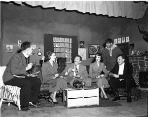 Hasty Heart, 1953 Gallery Players 1st performance at JCC