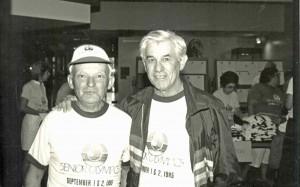Senior Olympics, 1985 Abe Weinrib, Mendy Snyder