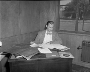Mayer Rosenfeld, 1951 Photo by Herb Topy