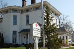 The former home of Helen Zelkowitz in Mount Vernon, Ohio. Photos by author.